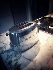 Smeg Stainless Steel 50's Retro Style 2 Slice Toaster