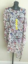 DKNY Jeans Butterfly Beach Dress Tunic Kaftan Cover up Swimswear Size S-m