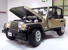 Jeep Rubicon WRANGLER 4X4 LGB G 1:24 27 Scala dettagliato pressofuso MAISTO
