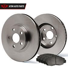 2004 Honda Accord Rear Disc (OE Replacement) Rotors Metallic Pads R