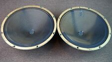 """Magnavox 583975 15"""" Woofers / Vintage Matching Woofers / Alnico Magnets"""