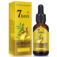 New Hair Regrow 7 Day Ginger Germinal Serum Essence Oil Loss Treatment Growth UK