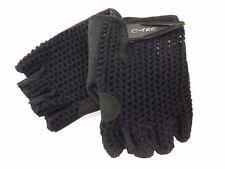 Evo E-Tec Retro Mesh Short Finger Cycling Gloves. Large