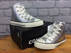 Scarpe da bambina Converse in argento   Acquisti Online su eBay