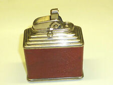 FORK (KREMER & BAYER) TABLE LIGHTER WITH LEATHER COAT - 1930 - MADE IN GERMANY