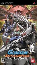 Used PSP BANDAI Gundam Battle Universe  SONY PLAYSTATION JAPAN IMPORT