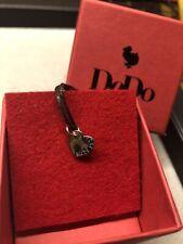ciondolo dodo pomellato Cuore Oro Rosa Con Diamanti Black
