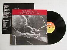 BLUE OYSTER CULT The Revolution By Night LP UK PRESS + INSERT NO CD