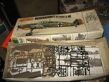 """VINTAGE MATCHBOX 1/32 MESSERSCHMITT Bf109E-3 """"EMIL""""   #PK-502"""