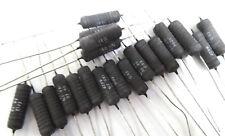 20 x 1R0 6W vintage wirewound resistors ERG 58ER-1R0