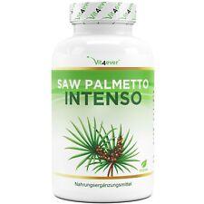 Saw Palmetto Intenso - 180 Kapseln (vegan) hochdosiert mit 500mg  5% Phytoserol