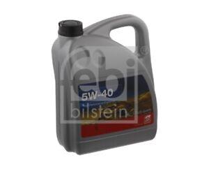Febi Engine Oil 5W-40 5 Litre 32938 - BRAND NEW - GENUINE - 5 YEAR WARRANTY