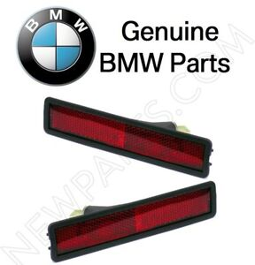 For BMW E30 3-Series Pair Set of Rear Left & Righ Side Markers Assemblies OES