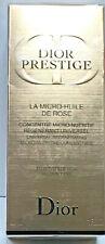 Dior Prestige La Micro-Huile De Rose Universal Regenerating 1oz/30ml New Sealed