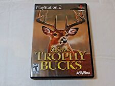Cabela's Trophy Bucks Sony PlayStation 2 PS2 2007 T-Teen Sports Pre-owned