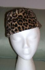 Vintage Woman's Leopard Hat Styled by Coralie