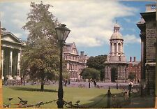 Irish Postcard TRINITY COLLEGE Dublin Ireland Adrian Baker John Hinde 2/926 4x6