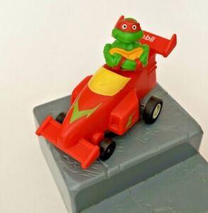 VINTAGE NINJA TURTLE AUSSIE MOBIL PETROL PREMIUM TOY RACE CAR RAPHAEL TMNT VGC