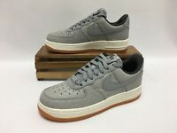 Nike Air Force 1 '07 PREM Shoes Silver White Gum 616725-008 Women's Size 6 NEW