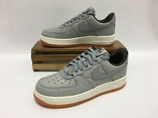 Nike Air Force 1 '07 PREM Shoes Silver White Gum 616725-008 Women's Size