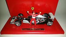 Hotwheels F1 Ferrari Chrome Michael Schumacher 1/18 Six Time World Champion