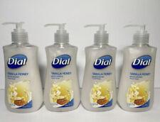 4 Dial Vanilla Honey Moisturizing Hand Soap 7.5oz Pump Bottles