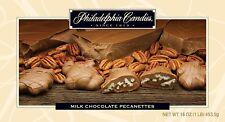Philadelphia Candies Pecanettes (Caramel Pecan Clusters), Milk Chocolate 1 Pound