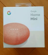 2017 Google Home Mini Smart Small Speaker *Coral* BRAND NEW* Worldwide Shipping
