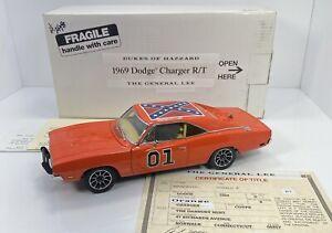 "Danbury Mint 1/24 Scale 1969 Dodge Charger""Dukes Of Hazzard""General Lee"