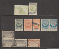 FLORIDA Documentary & Agricultural Revenue 12 Stamps 1936-45 USED FREE USA SHIP