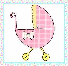 Sizzix Bigz Baby Buggy die #655437 Retail $19.99 Rare, designer Dena Designs