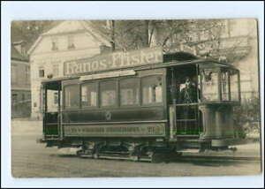 XX15107/ Würzburg Straßenbahn Ludwigsbrücke - Bahnhof tolle Foto AK ca.1912