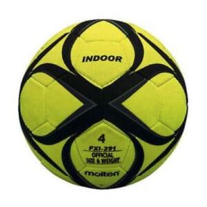 Molten Felt Indoor Yellow Football FX1-291 Size 4