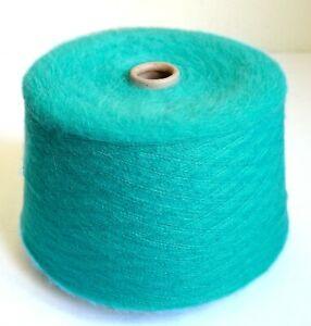 Italian alpaca wool yarns, 3.3 lb / 1500 grams cone