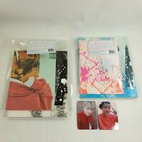MONSTA X 1st Repackage album Shine Forever CD Booklet Photocard Jooheon set KPOP