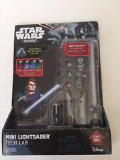 STAR WARS Science MINI LIGHTSABER Tech Lab 4 Colors Anakin Darth Vader Luke Blue