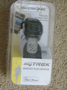 EUC Scosche myTREK wireless (blue-tooth) real time pulse monitor