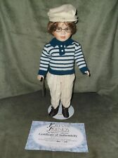 Limited Edition Briony Collection Forever Friends Porcelain Doll Jim With Coa
