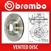 Brembo Front Pair Vented UV Coated Brake Discs 09.7701.11 - Fits BMW