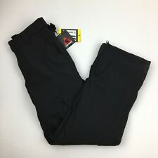 Gerry Men's Ski Snowboard Pants Snow-Tech Fleece Lined Size Small Black