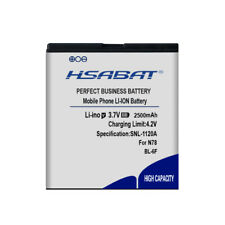 HSABAT 2500mAh BL-6F battery For Nokia N78 N79 6788 6788I N95 8G