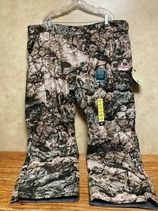 Mossy Oak Camo Insulated Pants Scent Control-Waterproof-Windproof 3XL New