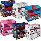 Kinderregal Holzregal Spielzeugkiste Spielzeugbox Kinder Regal Disney ab 44,90?