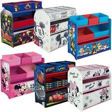 Kinderregal Holzregal Spielzeugkiste Spielzeugbox Kinder Regal Disney ab 39,90?