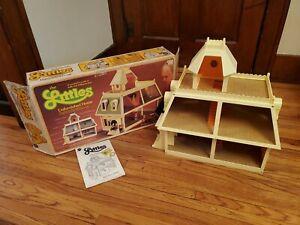 Vintage Mattel The Littles Doll House Unfinished Home W/ Box Complete Lights up