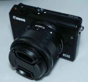 Canon EOS M100 Camera With EF-M 15-45mm f/3.5-6.3 Lens