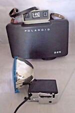 Polaroid 225 Land Camera w/ Case & 268 Flash