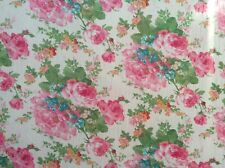 """Floral flower print polyester chiffon fabric 57"""" wide, sold by the yard"""