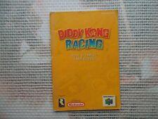 Notice Nintendo 64 / N64 Mode d'emploi Diddy Kong Racing manual booklet *