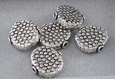 925 Silber Zwischenteile, Spacer Perlen, Altsilber, DIY Vintage Schmuck, Charms